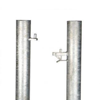 metal gate posts