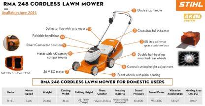STIHL RMA248 lawn mower