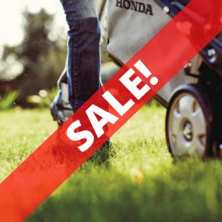 End of Season Lawn Mower Sale